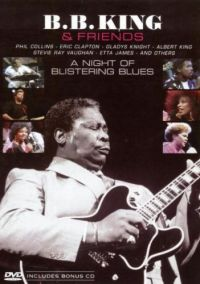 Cover B.B. King & Friends - A Night Of Blistering Blues [DVD]